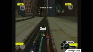 Grooverider: Slot Car Thunder GameCube Gameplay - Intense