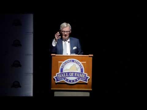 2018 Virginia Sports Hall of Fame - Frank Beamer Induction Speech