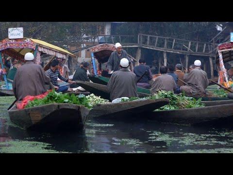 Floating Vegetable Market, Dal Lake, Srinagar