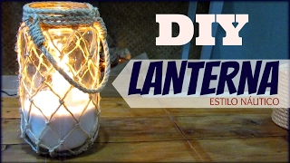 Como Fazer uma Lanterna de Pote de Vidro
