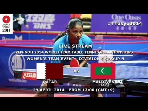 #TTokyo2014: Qatar - Maldives