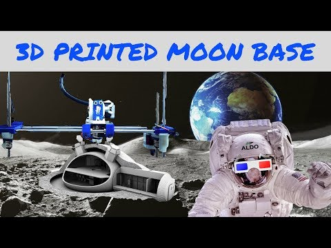 Moon Village: The European Space Agency's 3D Printed Moon Base