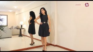 Must Have In Your Closet! How To Make A Basic Black Dress