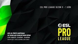CANLI: [TR] Astralis vs. Cloud9   ESL Pro League 9. Sezon Finalleri 1. Gün