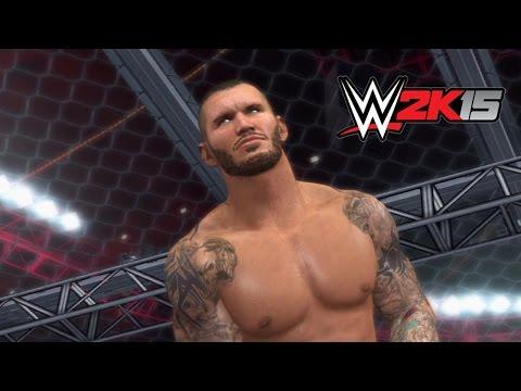 WWE 2K15 Replay: John Cena vs. Randy Orton — WWE Hell in a Cell 2014 Simulation