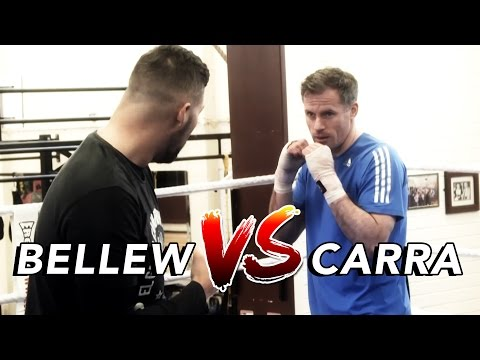 Jamie Carragher trains with Tony Bellew ahead of David Haye fight!