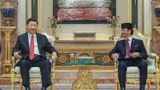 China and Brunei agree to upgrade relations to a strategic cooperative partnership