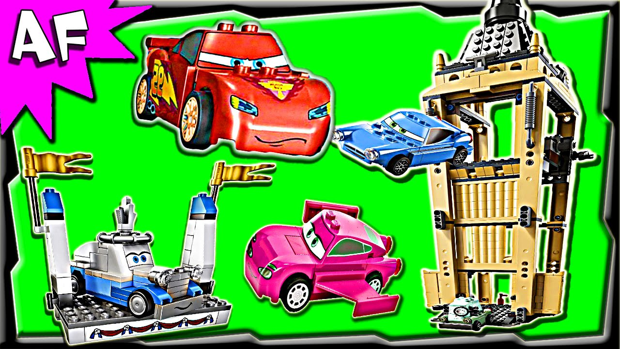 Lego Cars BIG BENTLEY BUST OUT 8639 Stop Motion Set Review