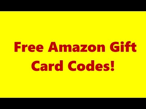 Free Amazon Gift Card Codes 2017 – Best Code Generator you will ...