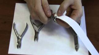 видео Кусачки для ногтей
