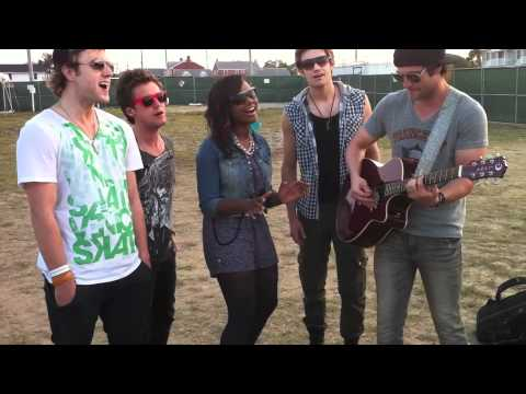 Just The Way You Are   Anthem Lights Live Cover (ft. Jamie Grace)