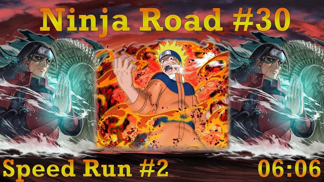 Naruto Blazing - Ninja Road #30: Speed Run #2 (06:06)