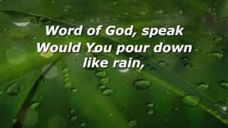 Word of God Speak - MercyMe w/lyrics