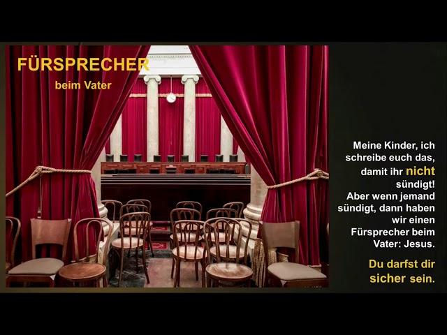 DU darfst dir SICHER sein! – Predigtreihe 1. Johannesbrief - Teil2 - Andreas Baer - 15.11.2020 - CGO