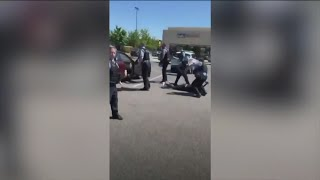 State's Attorney investigating after video appears to show officer put knee on woman's neck during a