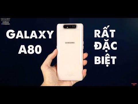 Đánh giá Samsung Galaxy A80, chiếc điện thoại dành cho người đặc biệt