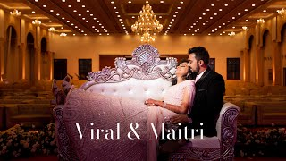 Cinematic Highlights | Viral & Maitri | 2 Dec '19