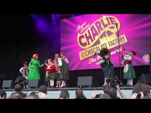 Billy Elliot+Charlie & Choc Factory+Wicked @ West End Live 2015 - Trafalgar Square London.Part 2
