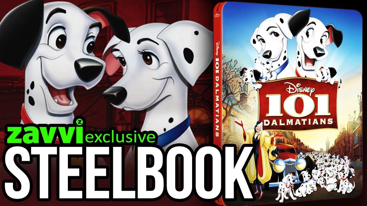101 Dalmatians Zavvi Exclusive Limited Edition Steelbook The