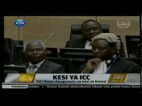 News: Kesi ya ICC Hague