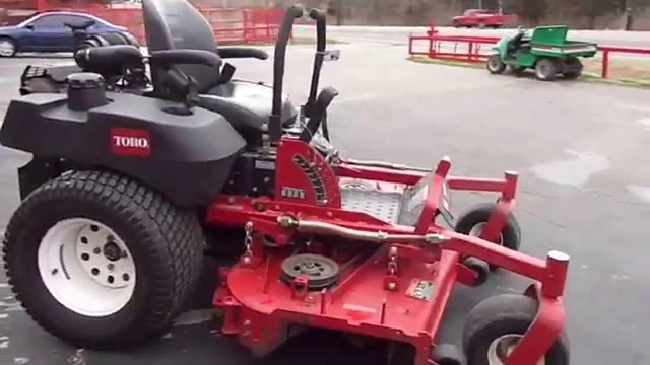 60 U0026quot  Toro Z-master Zero Turn Lawn Mower With 27 Hp Kohler Engine