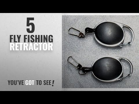 Top 10 Fly Fishing Retractor [2018]: Stainless Cable Zinger 1 Pair
