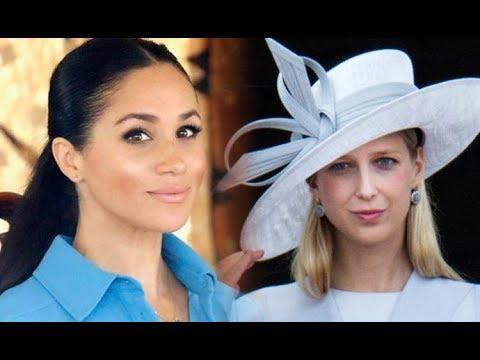 Royal wedding celebrations continue as Lady Gabriella Windsor wears fourth dress