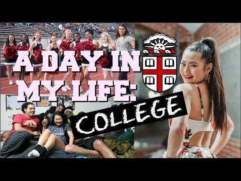 A DAY IN THE LIFE [Brown University] | Exercise, Classes, Cheerleading
