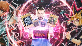 Unboxing the Most GODLY Classic YuGiOh MYSTERY BOX in all of Japan! ULTIMATE RARE KAIBA!!