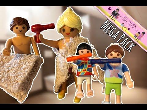 Morgenroutine MEGA PACK - Playmobil Filme deutsch mit Spielzeug