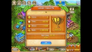 Farm Frenzy 3 only GOLD (level 70) playthrough Веселая ферма 3 (уровень 70) Золото