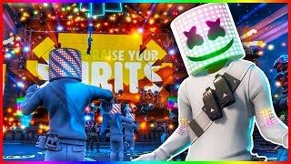 Fortnite Marshmello Event | Live Reaction