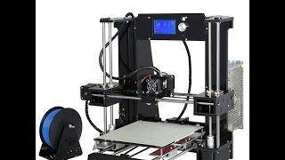 распаковка и обзор деталей 3d принтера анет а6 review 3d fdm printer anet a6