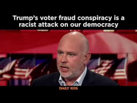 Trump's voter fraud conspiracy is racist and attacks American democracy