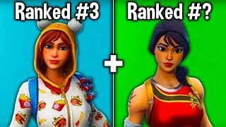 10 SKINS TRYHARDS USE in FORTNITE SEASON 9! (Top Sweaty Skins)