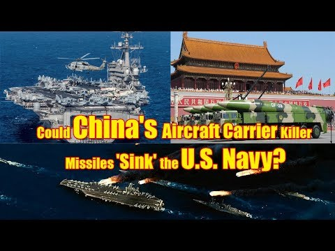 How China Plans To Scare Away America's Aircraft Carriers