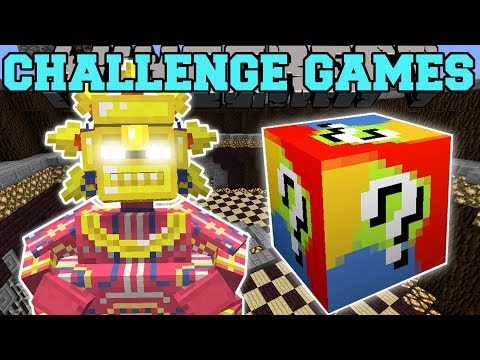 Minecraft: FATTEST BOSS CHALLENGE GAMES - Lucky Block Mod - Modded Mini-Game