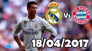 Cristiano Ronaldo Vs Bayern Munich (18/04/2017) HD 720