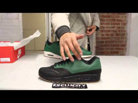 Air Max 1 VT QS Gorge Green Unboxing Video at Exclucity