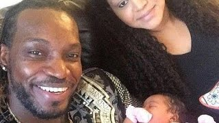 vuclip Chris Gayle Wife and Family Rare and Unseen Images