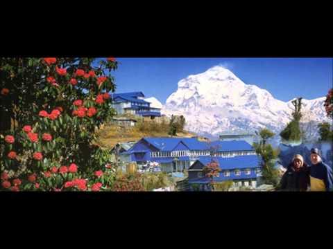Dhaulagiri Hawa Chalio Siriri , Ram Chandra Kafle ,beautiful sceneries, Kobang Mustang