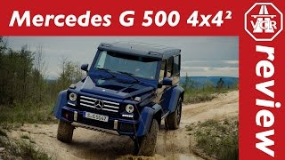 2016 Mercedes-Benz G 500 4x4² - In-Depth Review, Full Test, Test Drive