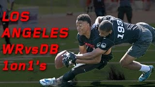Los Angeles WR vs DB 1 on 1