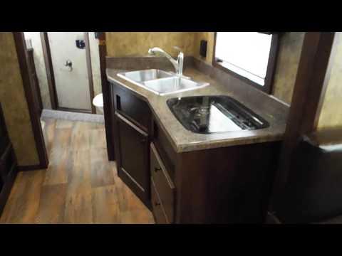 "2017 Trails West Sierra 15x19 - 8' Wide 7'6"" Tall 4 Horse Living Quarters Trailer"