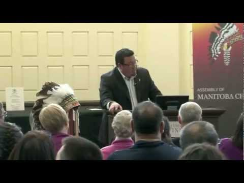 Realizing First Nations Treaty Rights - A lecture by Grand Chief Derek Nepinak Part 2 of 3