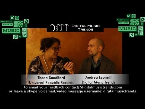 Theda Sandiford, VP Digital Marketing at Universal Republic - DMT @ SXSW 2013