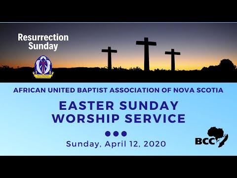 AUBA Easter Sunday Worship Service 2020