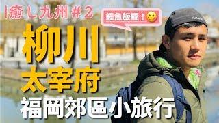 [ 癒し九州 #2 ] 福岡西鐵一日遊|太宰府滿開飛梅X柳川擺渡船X超美味鰻魚飯糰