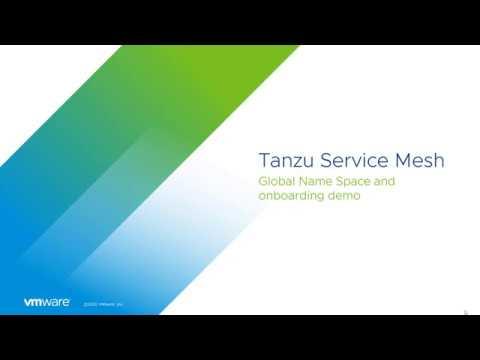 VMware Tanzu Service Mesh (demo)