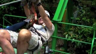 Zip-Line Arenal Costa Rica Sky Adventures May 2011 Ziplining
